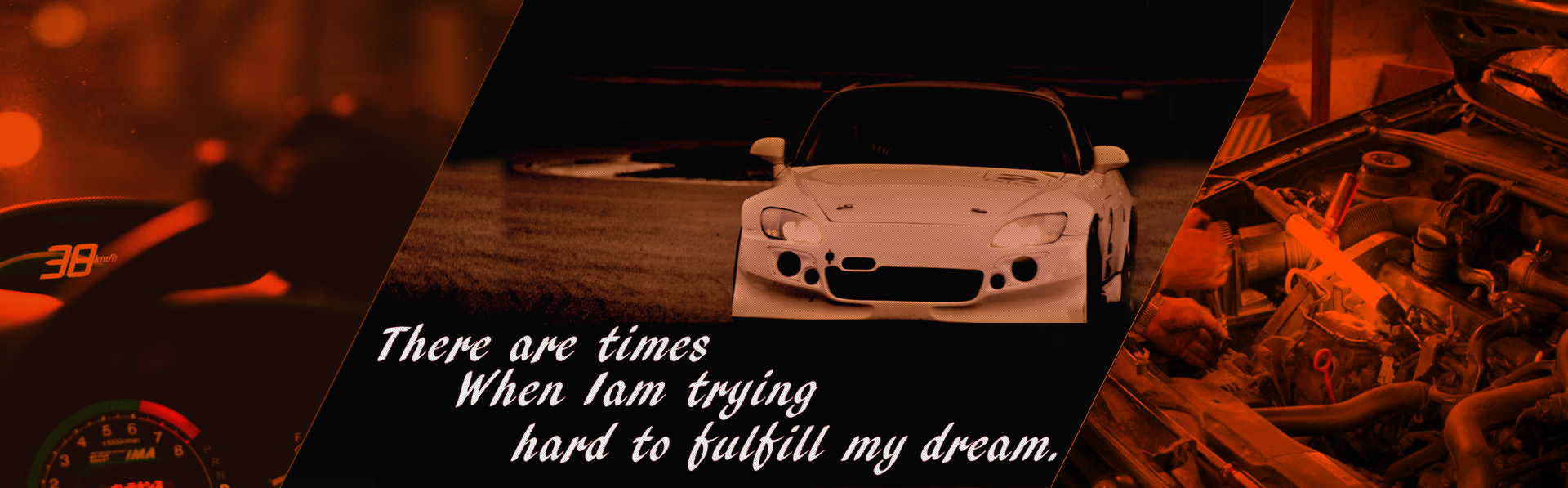 There are times When Iam trying hard to fulfill my dream